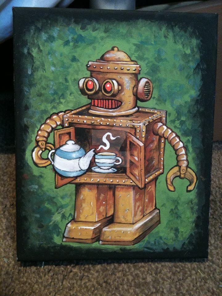 T Bot by amoebabloke