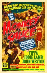 monkey sauce poster