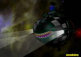 more space shippery by amoebabloke