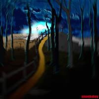 hill by amoebabloke