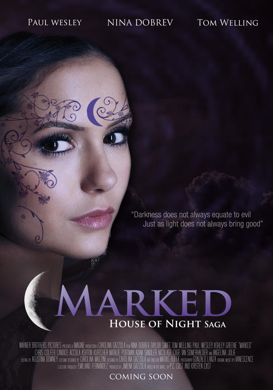 House of night series marked fan made poster by for Housse of night