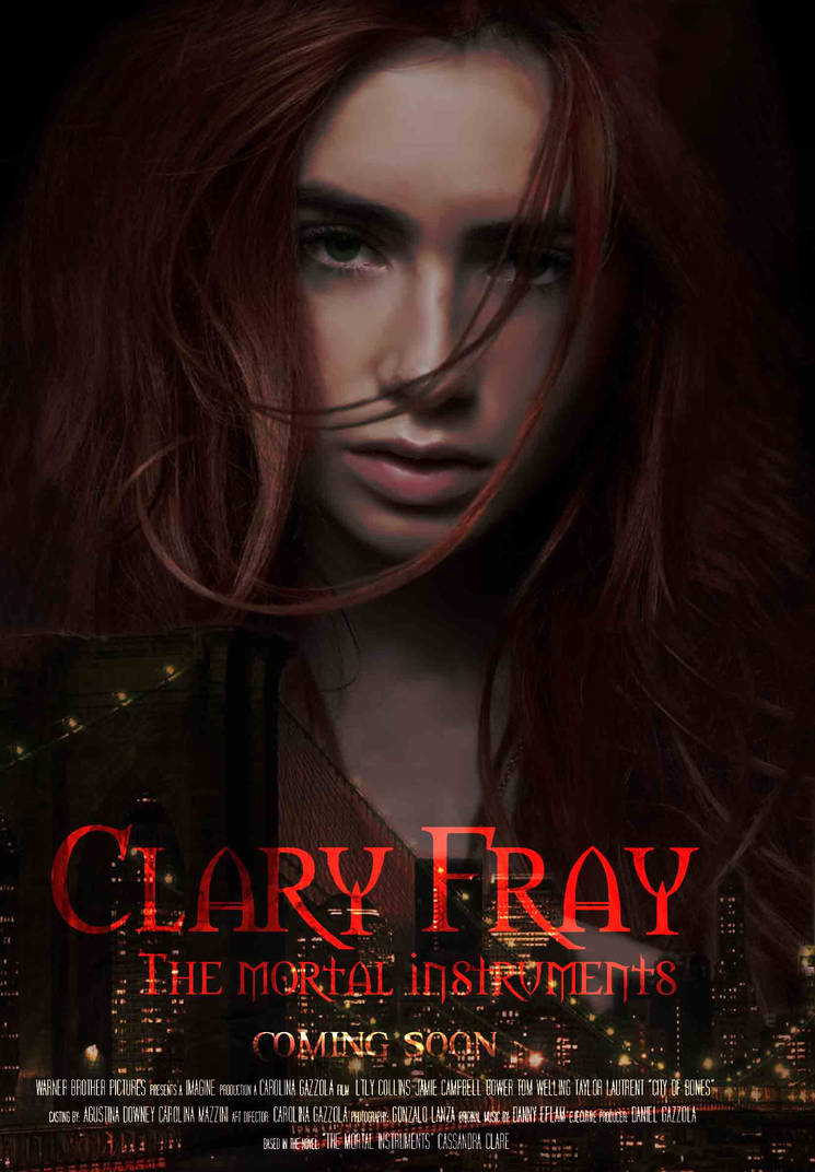 clary fray poster