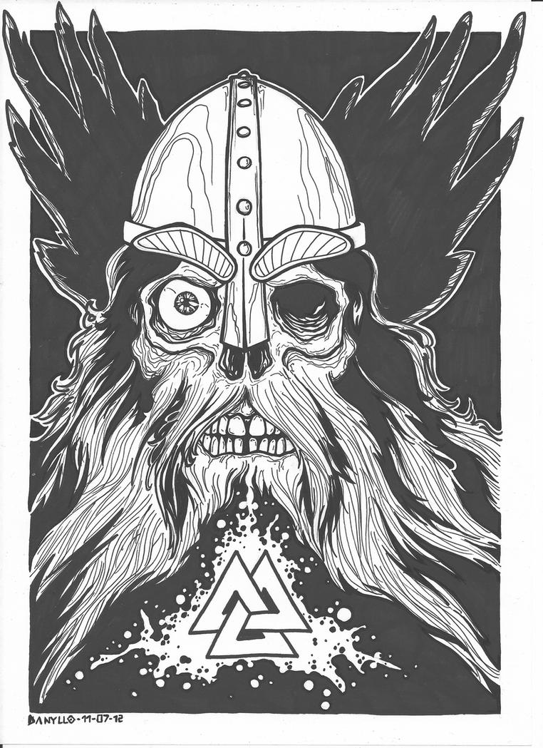 Valknut Odin Warrior Valkyrie Raven Pendant Jewelry Norse