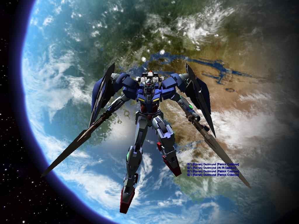 ... Gundam 00 Qan[T] Final Shot by ziegey