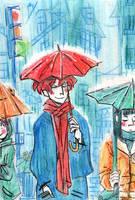 Petite pluie abat grand vent by Mistexpi