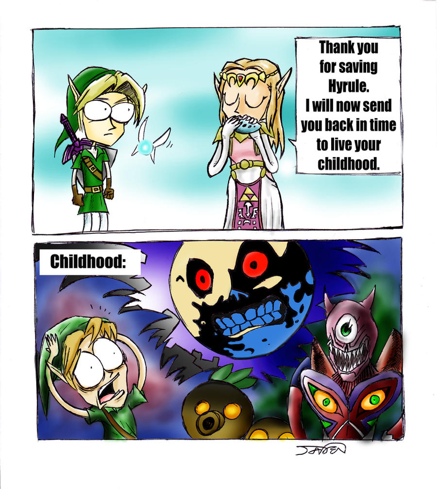 Scumbag Zelda by TheSuperJman