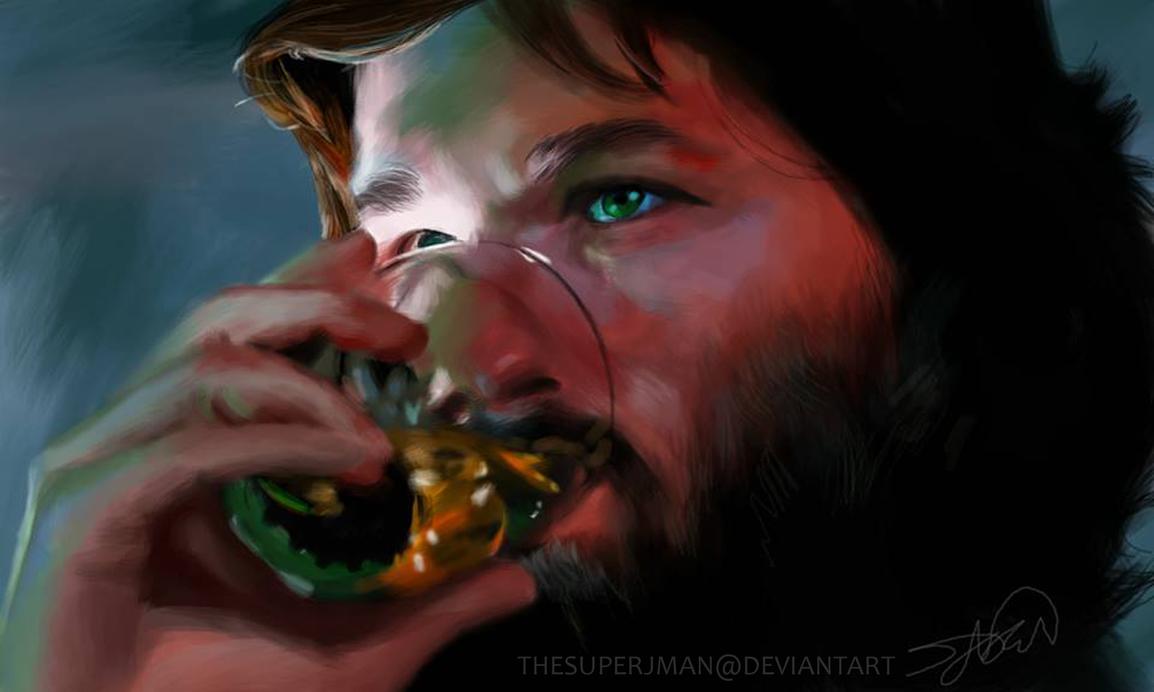 Kurt Russell by TheSuperJman