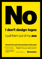 No. I Don't Design Logos. by imjustcreative