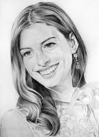 Anne Hathaway by PortraitLc