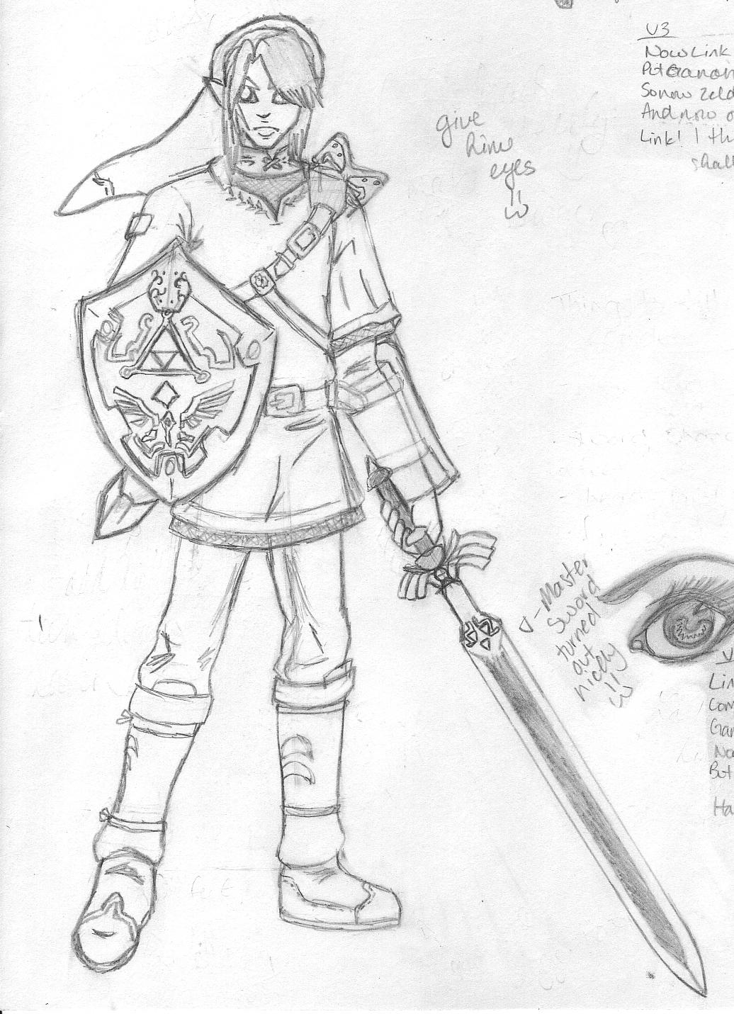 Legend Of Zelda Link 01 By Cleo Striden On Deviantart