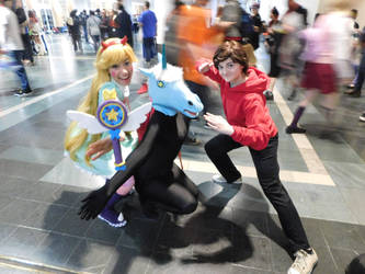 Star vs. the forces of Evil- Anime Boston 2017