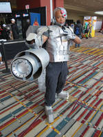Cyborg- Taken at Connecticon 2018 by BrinyCosplay