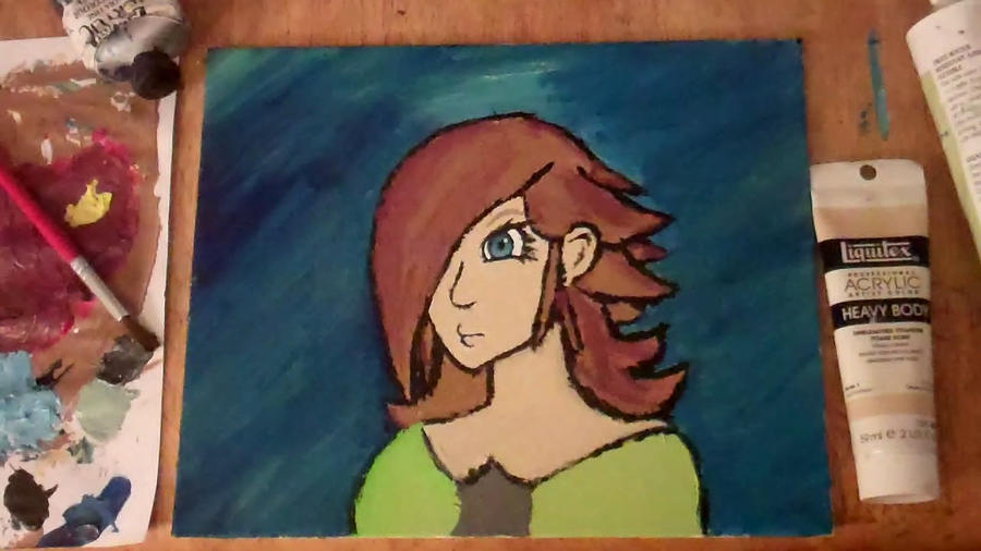 Rosalina painted by theGman0