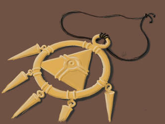 Millennium necklace by poiuzu
