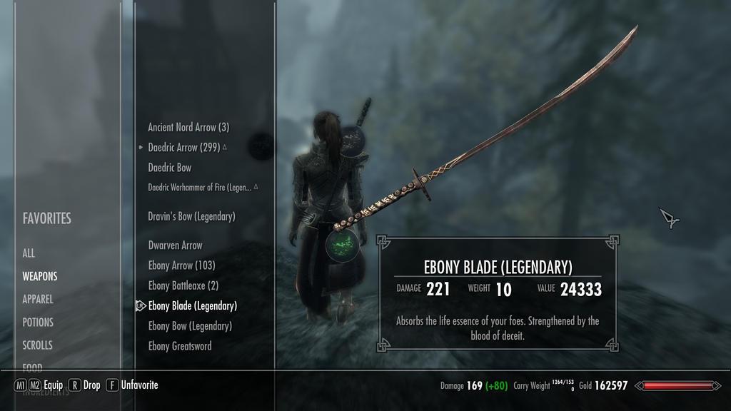 ebony sword skyrim - photo #28