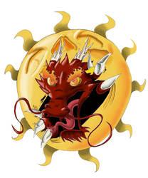 dragon and sun by DaviLeopardo