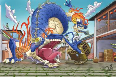 Drago chines D by DaviLeopardo