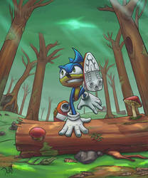 Sonic by DaviLeopardo