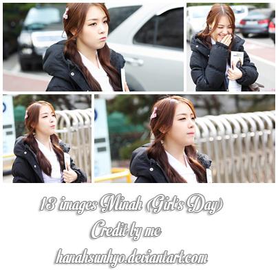 13 images Minah (Girl's Day)-Photopack-Hanah by hanahsunhyo