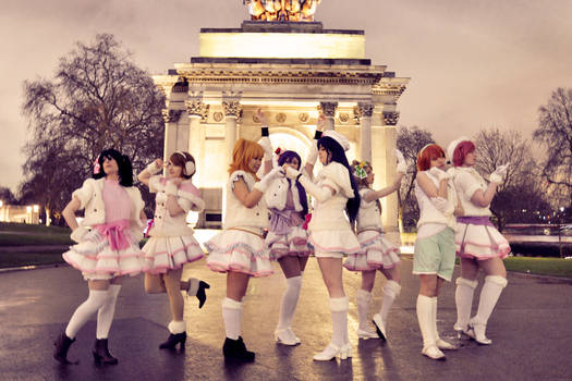LOVELIVE - and freeze -