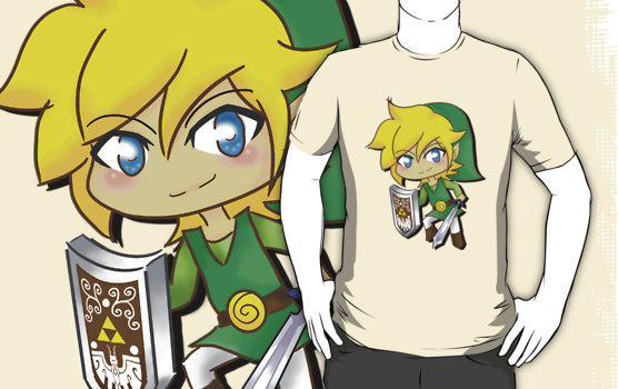 The Legend of Zelda T-Shirt by SpazztasticFanGirl