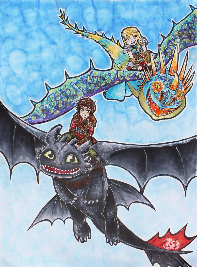 how to train your dragon race to the edge review