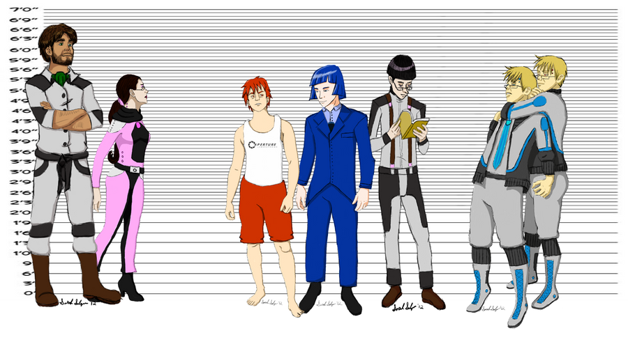 RP Height Comparisons by Valmunify on DeviantArt