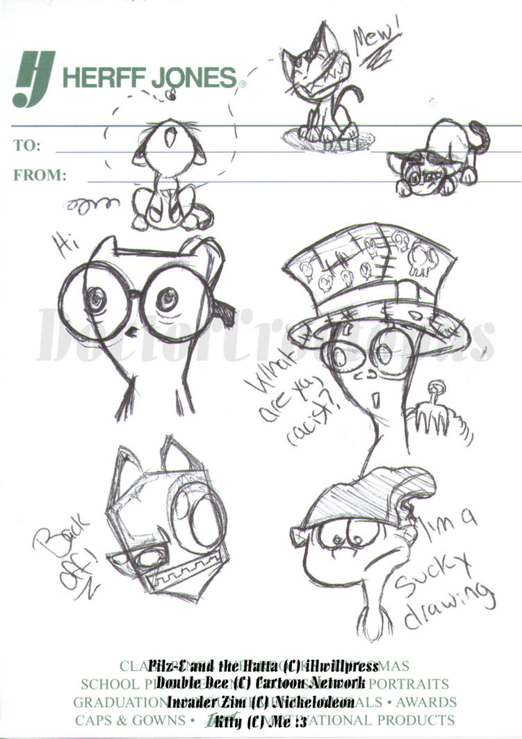 Doodles Galore by DoctorCroctopus