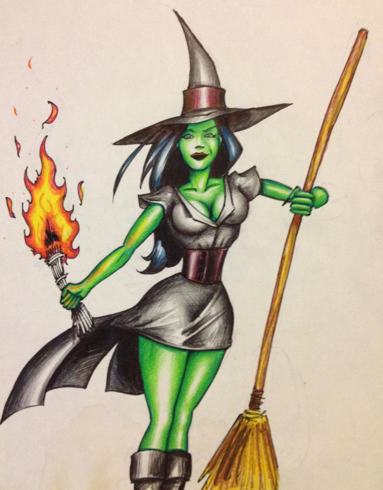 Wicked Witch Drawings Wicked Witch by Pete70003