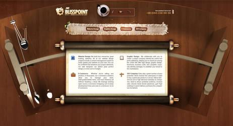 Blisspoint Corporate Website by sashander