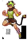 (Pixel sprite 2) Nikko by ganimishi