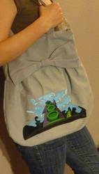 Bag-painting: DOTT by charlinedrice