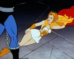 She-ra legs chained
