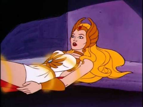 She-ra bound by magical bands