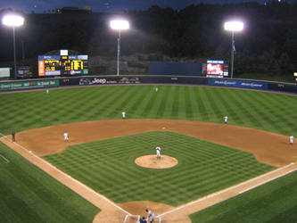 PNC Field At Night by kkworker