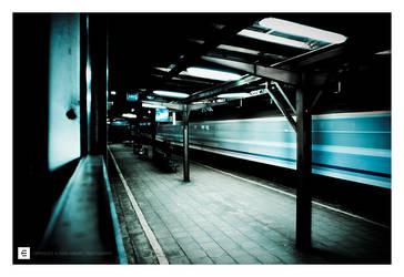 blue train by erroid