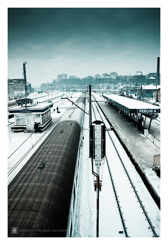 szczecin winter pkp by erroid