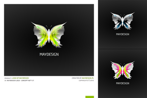 MAYDESIGN Logo by erroid