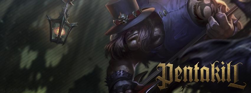 League of Legends - Yorick Pentakill by xBlackSwordman ...