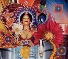 cosmic bliss by bluespectralmonkey