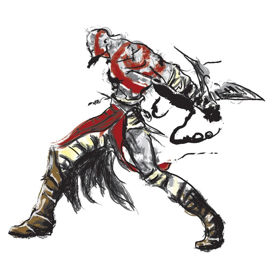 Kratos by semihgursu