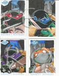 TMNT Cards - Days 24 and 25 of INKtober by masamune7905