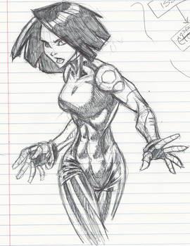 Battle Angel doodle