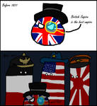 Countryballs Three nation of 1871