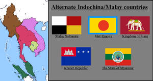 Alternate IndoChina Malay countries