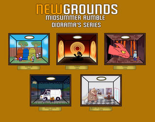 Newgrounds Midsummer Rumble Series: Bronze
