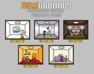 Newgrounds Midsummer Rumble Series: Silver