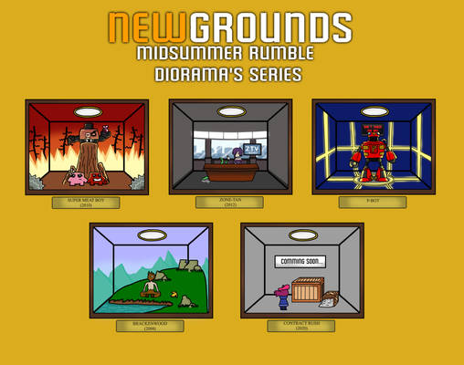 Newgrounds Midsummer Rumble Series: Gold