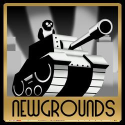 Newgrounds 1920 ArtDeco style