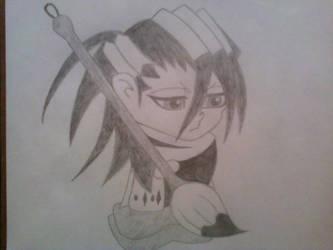 Chibi Kuchiki Byakuya by TheNomBomb